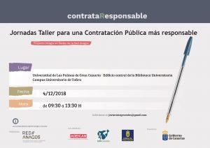 Jornada Taller para una Contratación Pública más responsable @ Universidad de Las Palmas de Gran Canaria - Edificio Central de la Biblioteca Universitaria