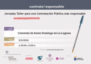 Jornadas Taller para una Contratación Pública más responsable @ Convento Santo Domingo en La Laguna