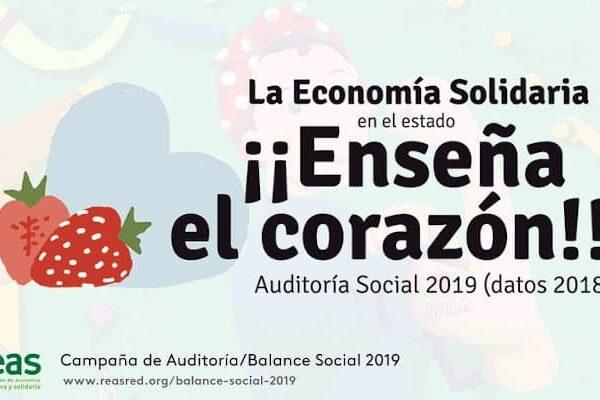 La Red Anagos enseña el corazón. Auditoria/Balance Social 2019